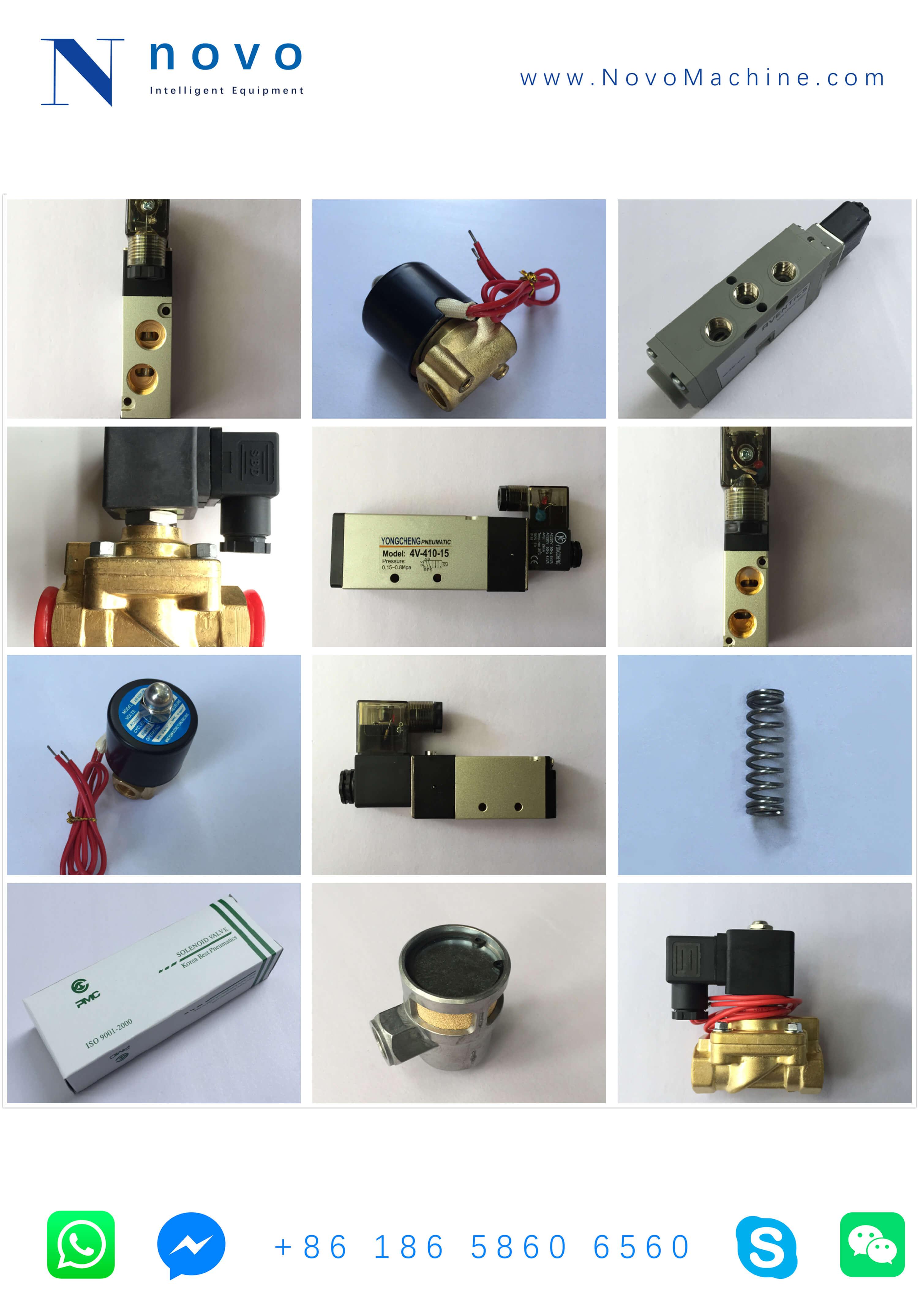 Solenoid-Valve-Spare-parts-for-Novo-PET-bottle-blowing-molding-machine
