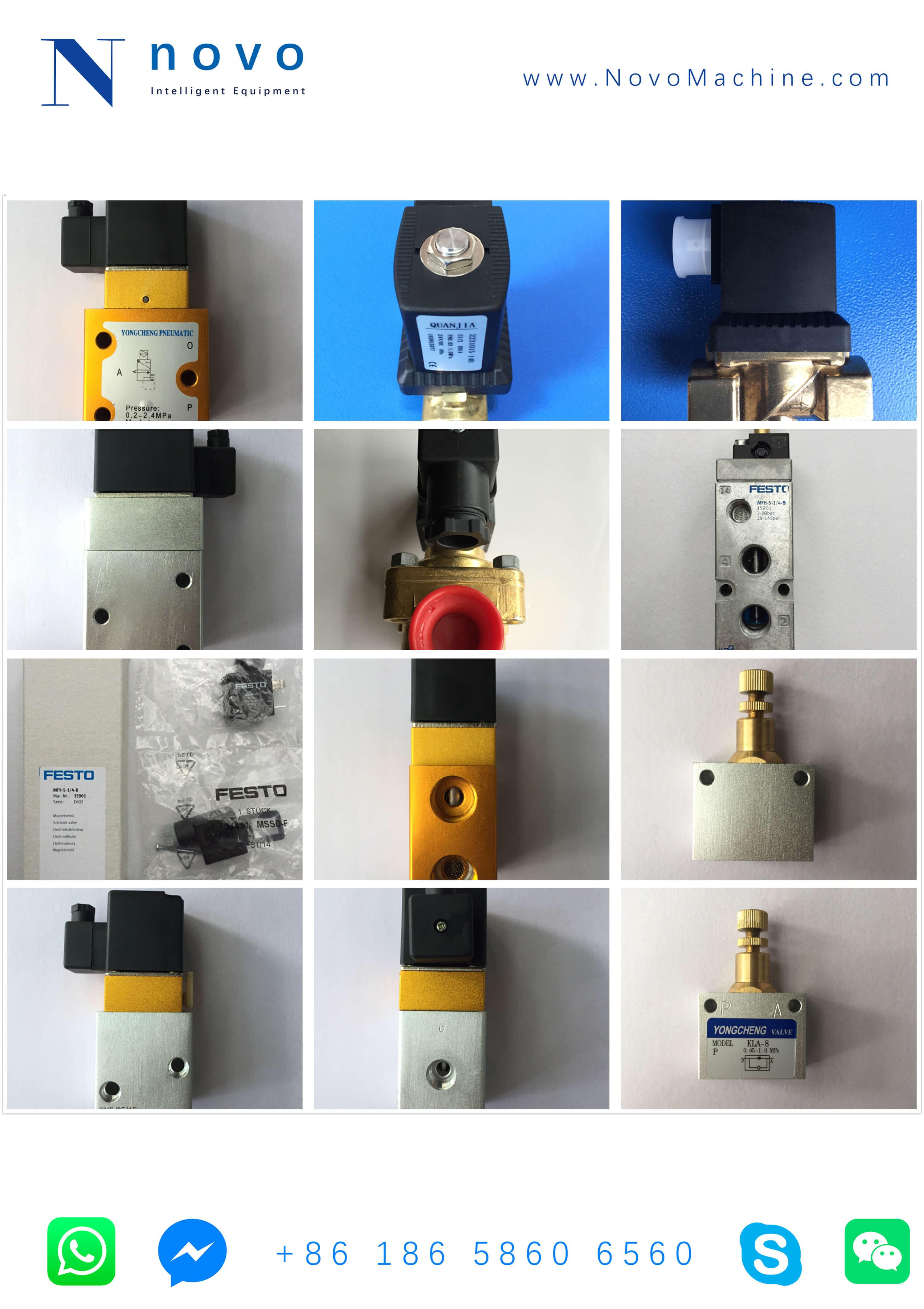 Solenoid-Valve-Spare-parts-for-Novo-PET-bottle-blow-moulding-machine