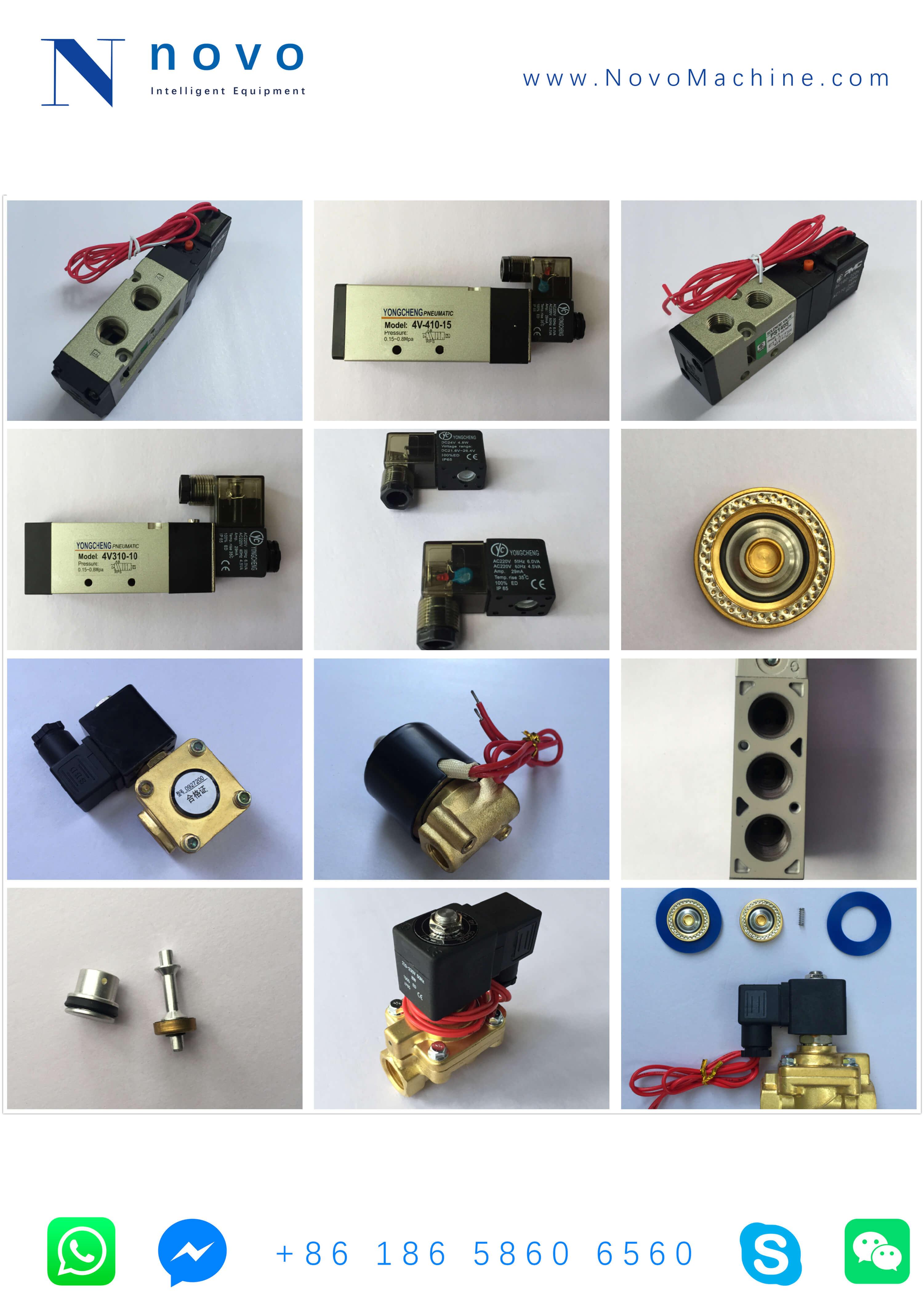 Solenoid-Valve-Spare-parts-for-Novo-PET plastic -bottle-blowing-molding-machine
