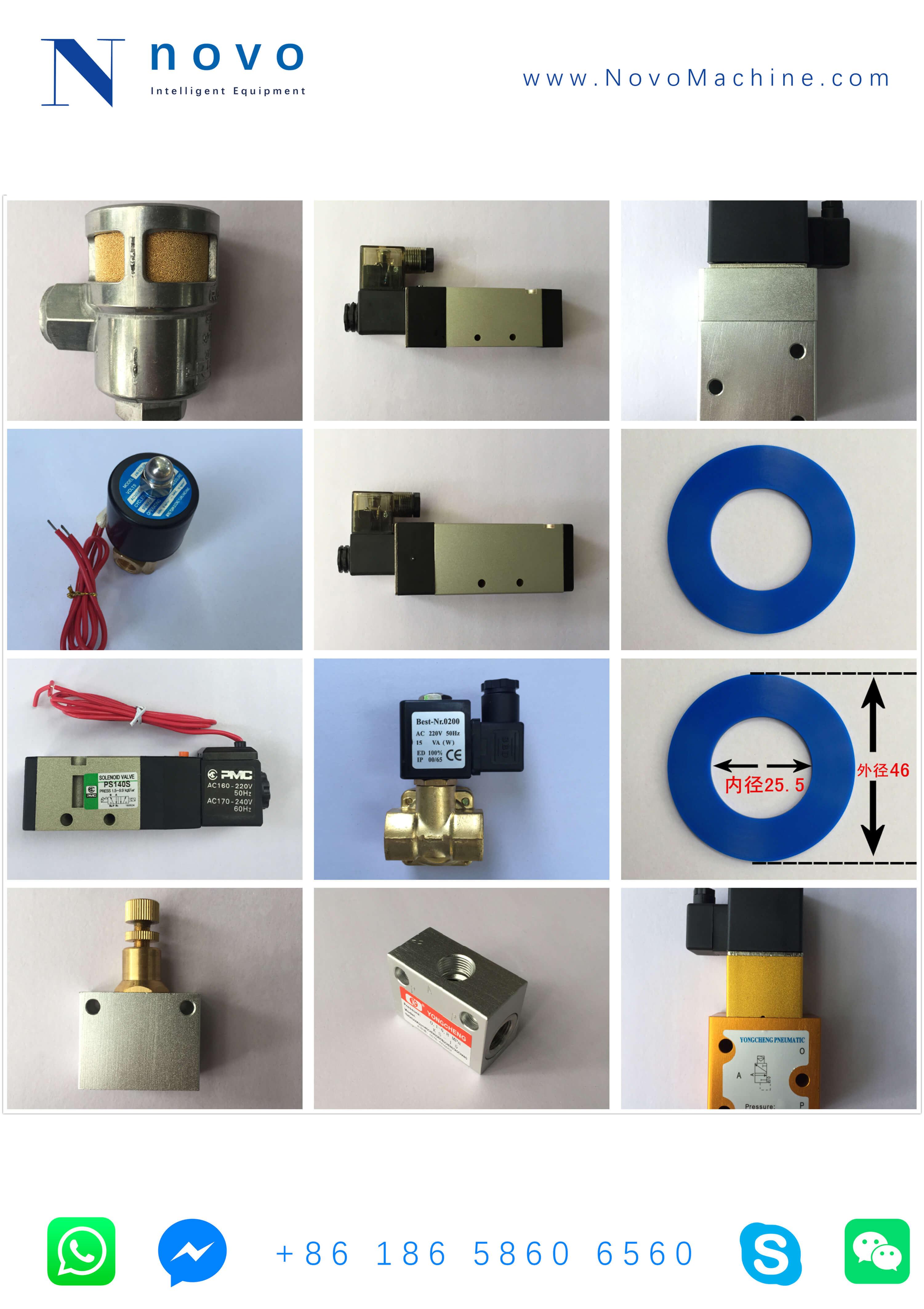 Solenoid-Valve-Spare-parts-for-Novo-PET-bottle-injection blowing-molding-machine