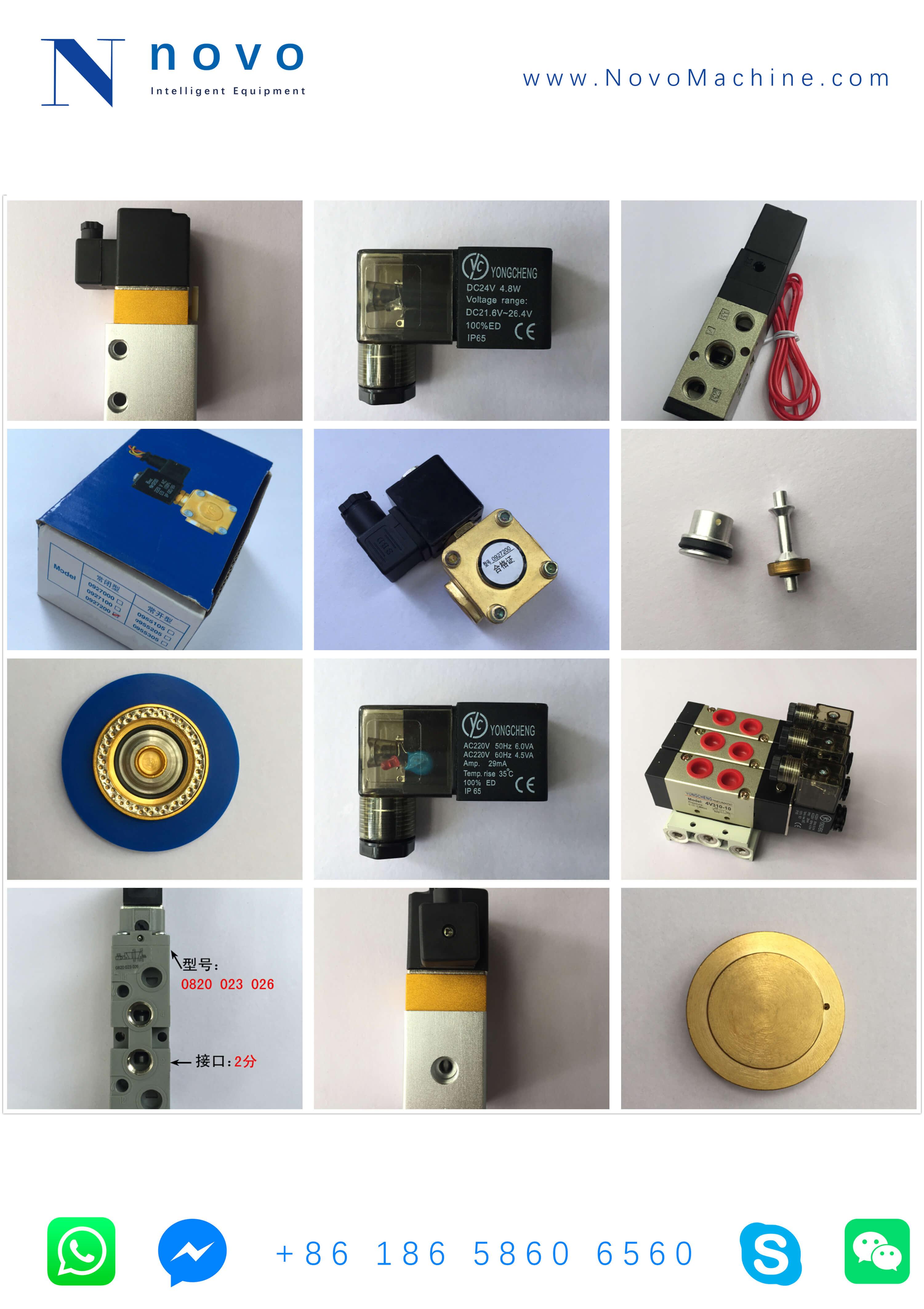 Solenoid-Valve-Spare-parts-for-Novo-PET-bottle-blowing-molder-machine
