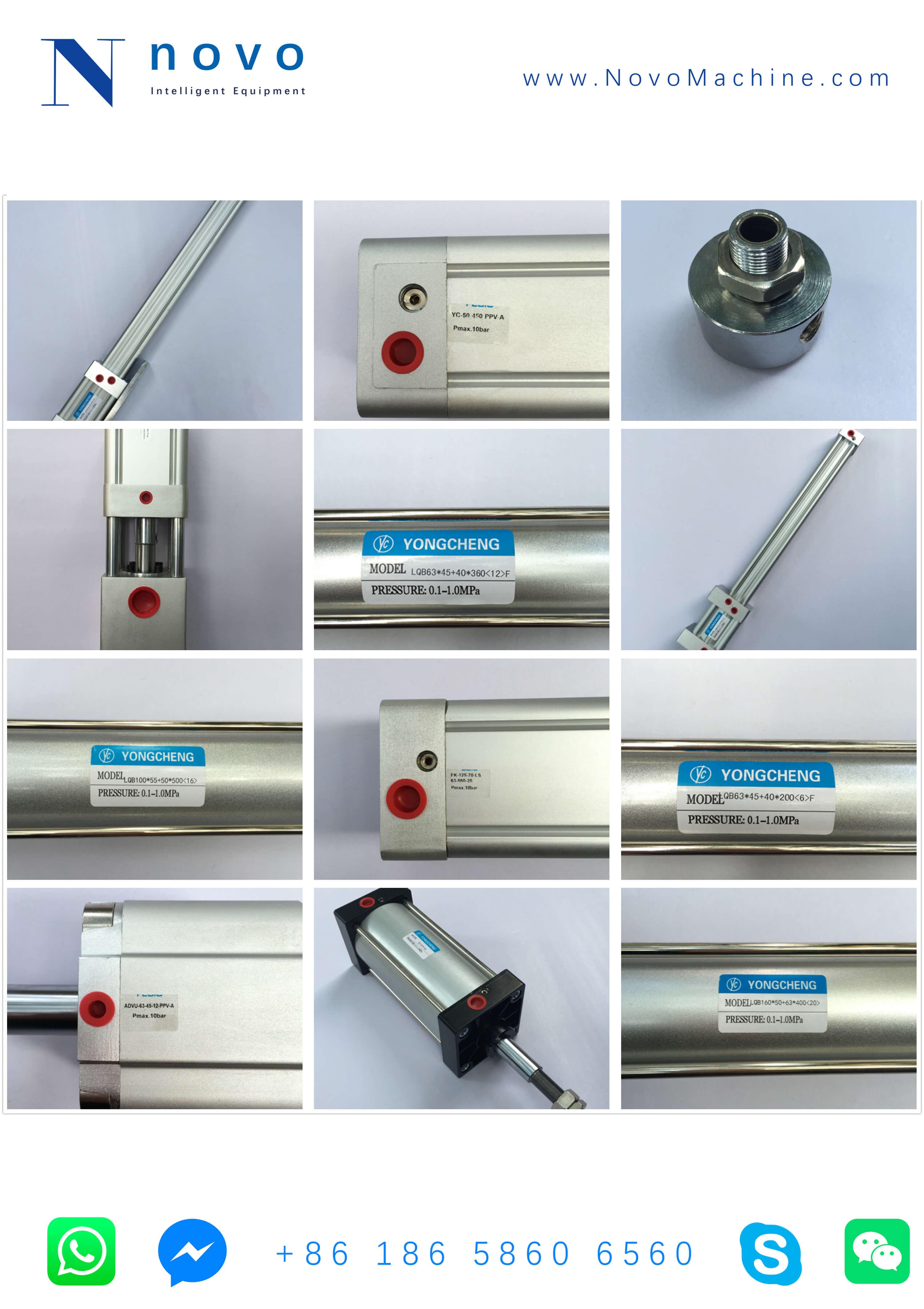 cylinder-spare-parts-for-Novo-PET-bottle-blow-molding-machine