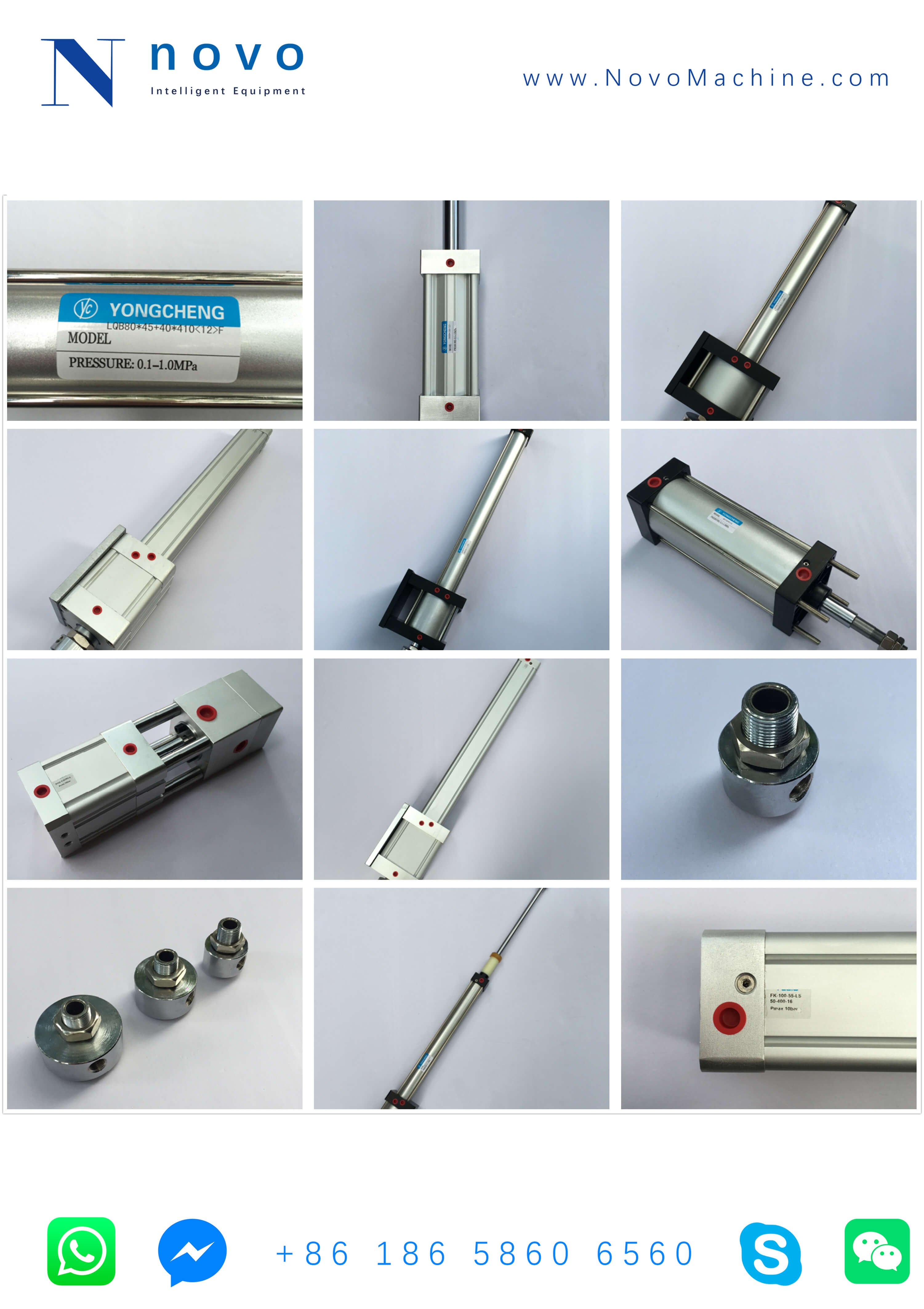 cylinder-spare-parts-for-Novo-PET-bottle-blowing-molding-machinery