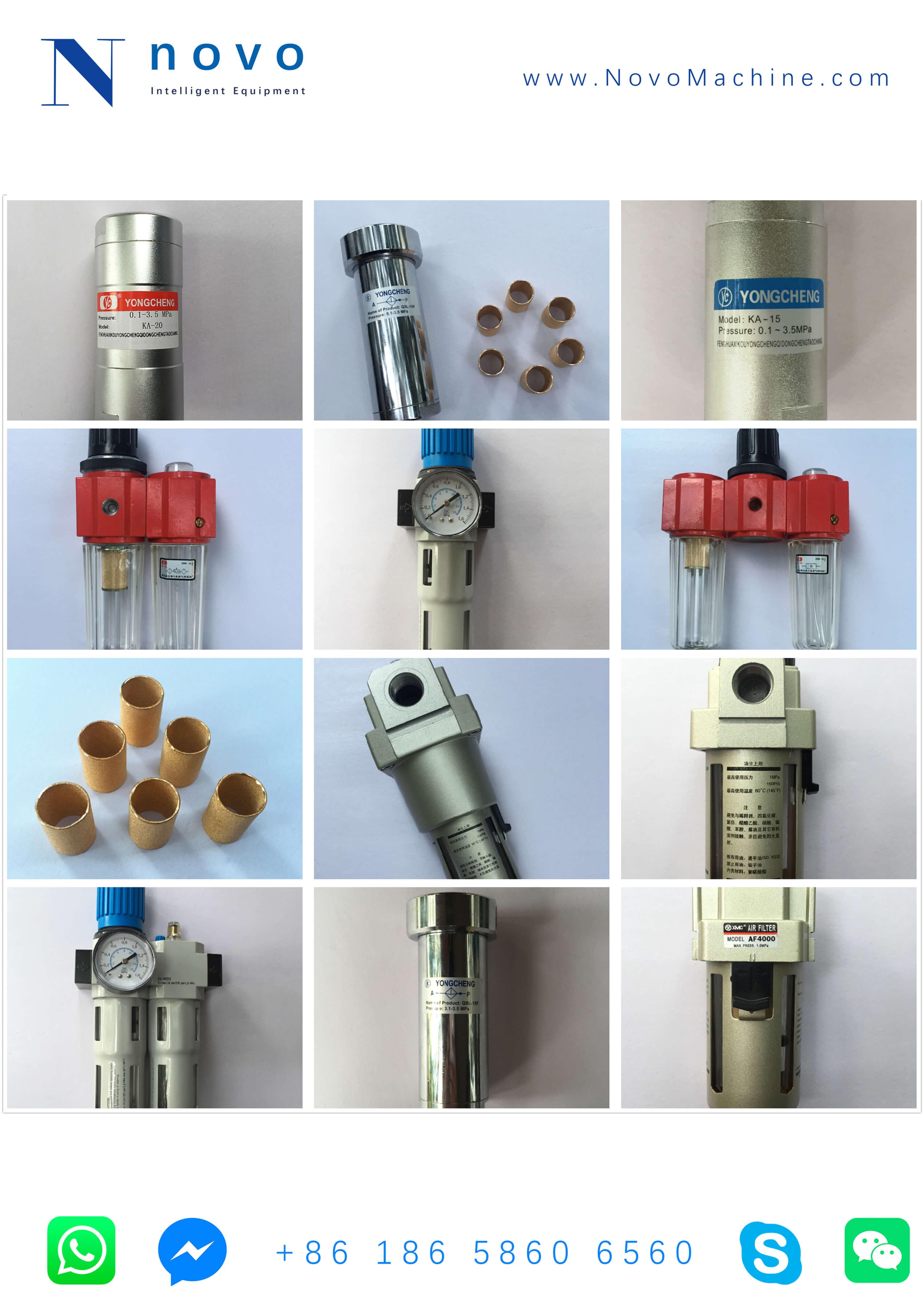 gas-filter-spare-parts-treatment-PET-bottle-blowing-moulding-machine-