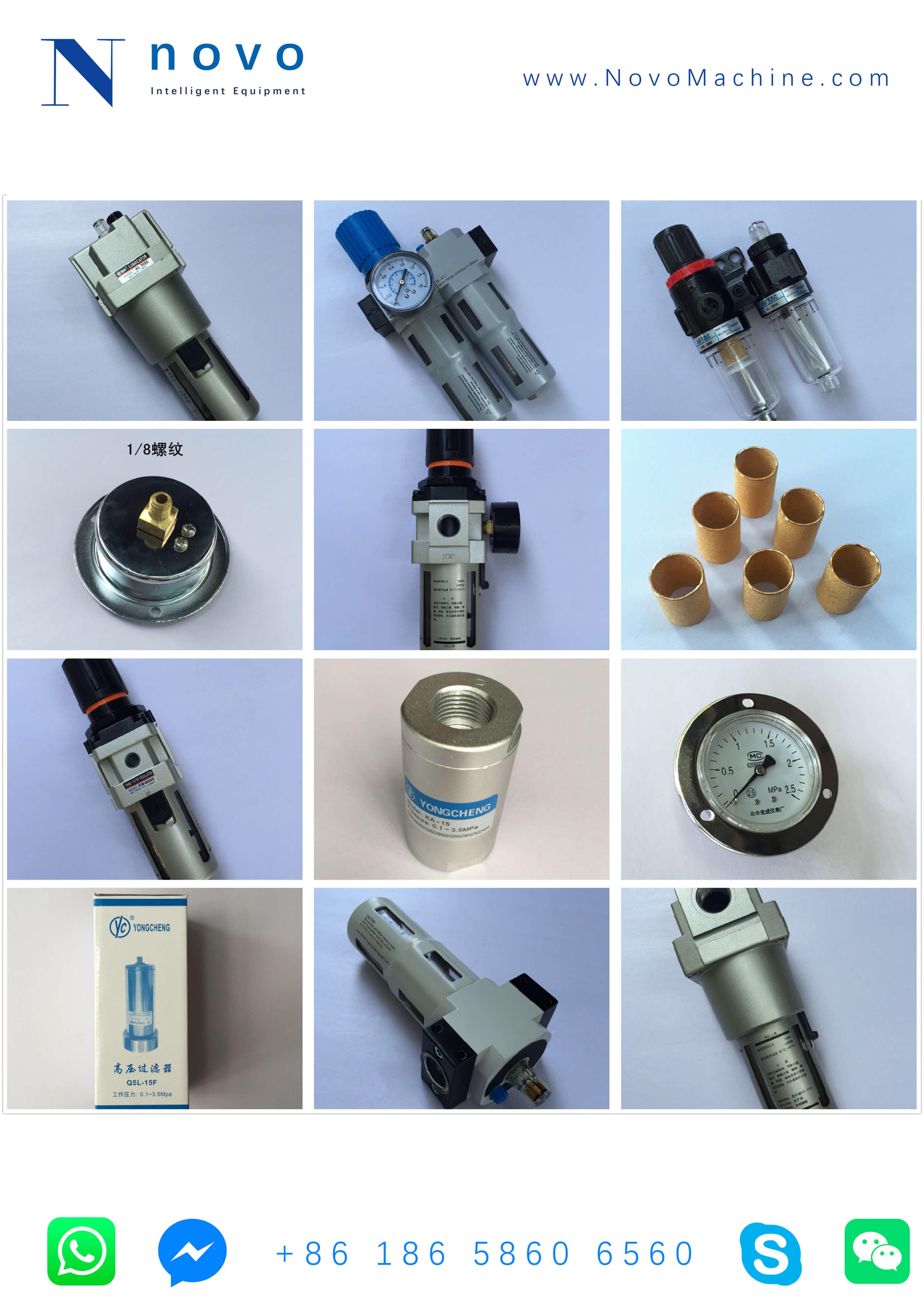 gas-filter-spare-parts-treatment-PET-bottle-blowing-molding-machine